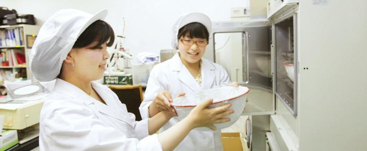 管理栄養学科の学びイメージ